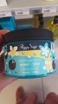 Peggy Sage - Monoï Tiaré - Gommage corps