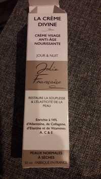 Jolie Française - La crème divine - Crème visage anti-âge nourrissante