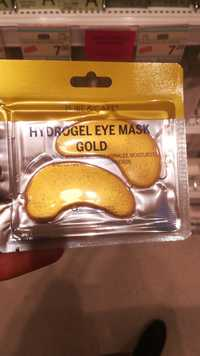 PURE & CARE - Hydrogel eye mask gold