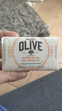 KORRES - Pure greek olive - Savon traditionnel miel