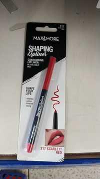 MAX & MORE - Shaping - Lipliner 317 Sarlett red