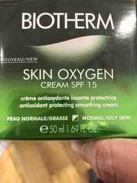 Biotherm - Skin oxygen - Cream SPF 15