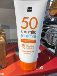 Hema - Sun milk sensitive SPF 50