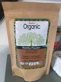 RADICO - Organic - Poudre de Reetha soin des cheveux