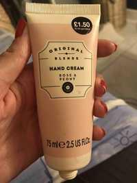Primark - Original blends - Hand cream rose & peony
