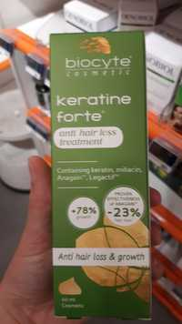 BIOCYTE COSMETIC - Keratin forte - Anti hair loss treatment