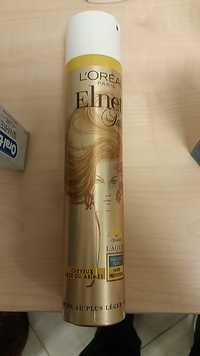 L'Oréal - Laque Elnett Satin Cheveux Secs ou Abîmés