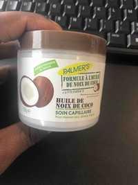 PALMER'S - Huile de Noix de Coco - Soin capillaire