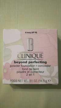 Clinique - Beyond perfecting - Fond de teint poudre et correcteur 2 en 1