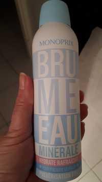 MONOPRIX - Brume eau minérale