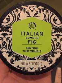 THE BODY SHOP - Italian summer fig - Crème corporelle