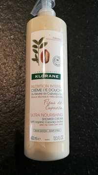 KLORANE - Fleur de cupuaçu - Crème de douche nutrition intense