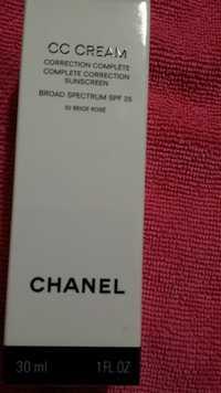 CHANEL - CC cream 32 beige rosé SPF 25