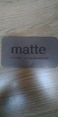Bys - Matte - On the go palette