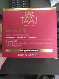 TAAJ PARIS - Keshika - Masque ayurvédique