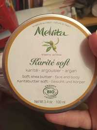 Melvita - Karité soft - Soft shea butter