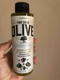 Korres - Pure greek olive - Showergel sea salt