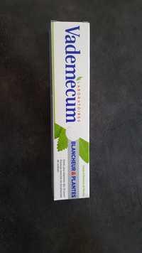 VADEMECUM - Blancheur & plantes - Dentifrice sauge & essence de menthe