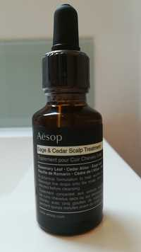 AESOP - Sage & Cedar scalp treatment