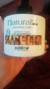 SUBLIMO - Natural cc - Soin repigmentant Marron clair