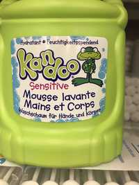 Kandoo - Sensitive - Mousse lavante mains et corps