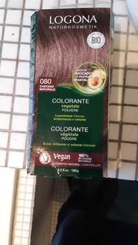 Logona - Colorante végétale poudre 080 Castano naturale