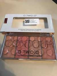 O.TWO.O - Contour 4 colors grooming powder