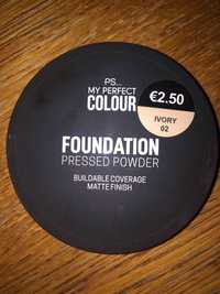 Primark - PS my perfect colour - Foundation pressed powde ivory 02