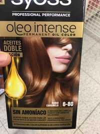 SYOSS - Oleo intense - Permanent oil color 6-80 rubio caramelo