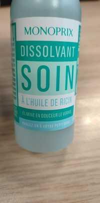 MONOPRIX - Dissolvant soin à l'huile de ricin