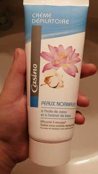 CASINO - Peau normales - Crème dépilatoire
