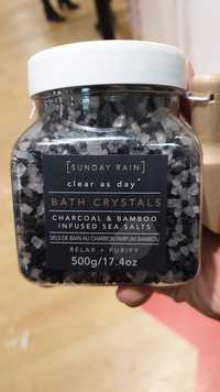 SUNDAY RAIN - Sels de bain au charbon parfum bambou