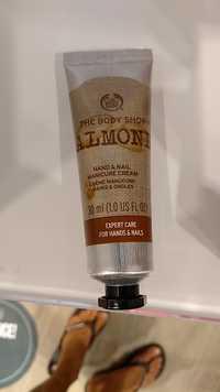 THE BODY SHOP - Almond - Crème manucure mains & ongles