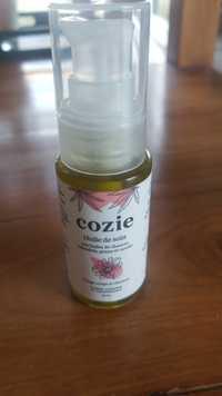 COZIE - Huile de soin aux huiles de chanvre, calendula, prune et carotte