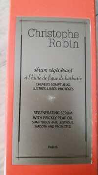 CHRISTOPHE ROBIN - Sérum régénérant à l'huile de figue de barbarie