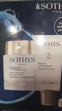 Sothys - Hydra hyaluronic acid - Crème hydratante jeunesse