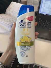 Head & Shoulders - 2in1 Citrus fresh - Shampooing antipelliculaire + soin
