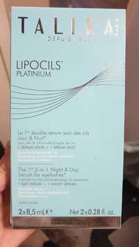 Talika - Lipocils platinium - Sérum soin des cils jour & nuit
