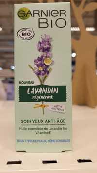 Garnier - Lavandin régénérant Bio - Soin yeux anti-âge