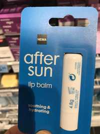 Hema - After sun - Lip balm
