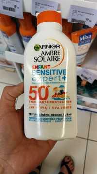 Garnier - Ambre solaire enfant sensitive expert+ FPS 50+