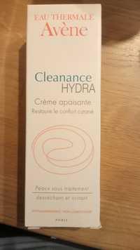 Eau Thermale Avène - Cleanance hydra - Crème apaisante