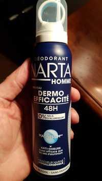 NARTA - Déodorant homme dermo efficacité 48h