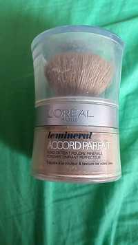 L'Oréal - Accord parfait - Fond de teint poudre minérale