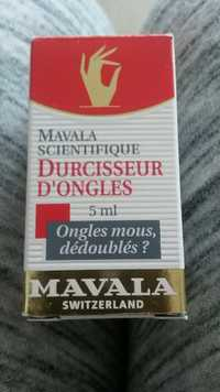 Mavala - Scientifique - Durcisseur d'ongles