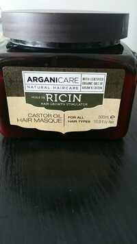 ARGANICARE - Masque renforçateur à l'huile de ricin