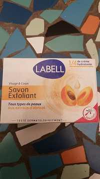 LABELL - Savon exfoliant aux extraits d'abricot