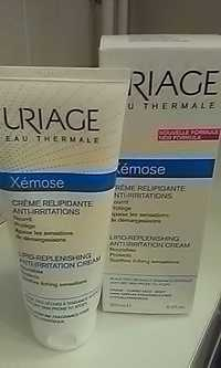 Uriage - Xémose - Crème relipidante anti-irritations
