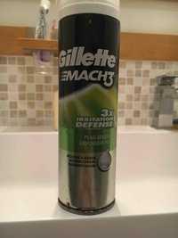GILLETTE - Mach3 Irritation Defense - Mousse à raser