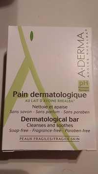 A-Derma - Pain dermatologique au lait d'avoine rhealba
